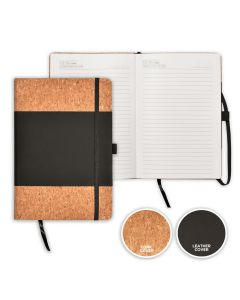 Eco Friendly Cork and Leather Notebook
