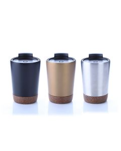 Vacuum Coffee Mug with Cork Base