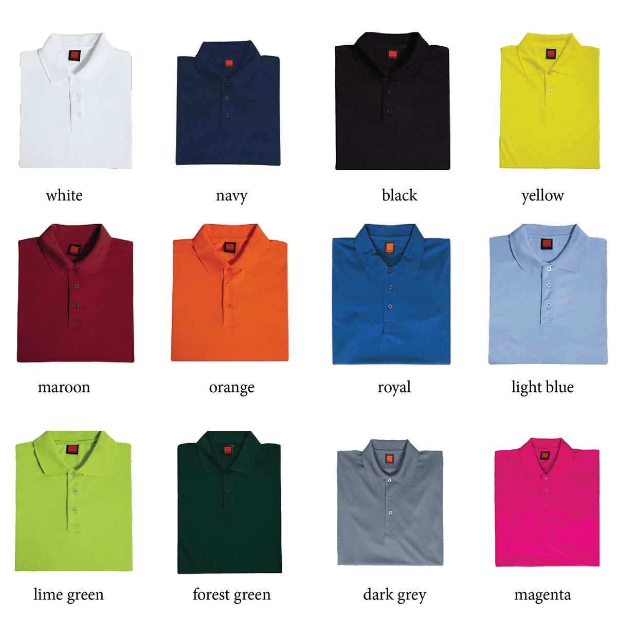 Dri Fit Polo Colours