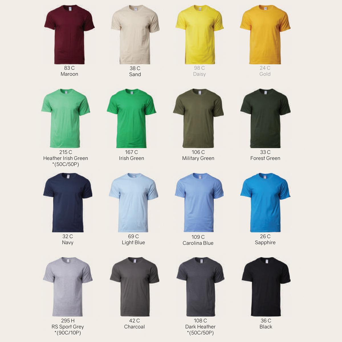 Gildan Roundneck Colours
